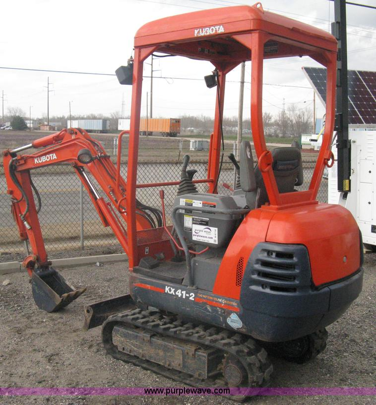 Phenomenal Kubota Kx41 2 Compact Excavator Item A6116 Sold March 2 Wiring 101 Breceaxxcnl