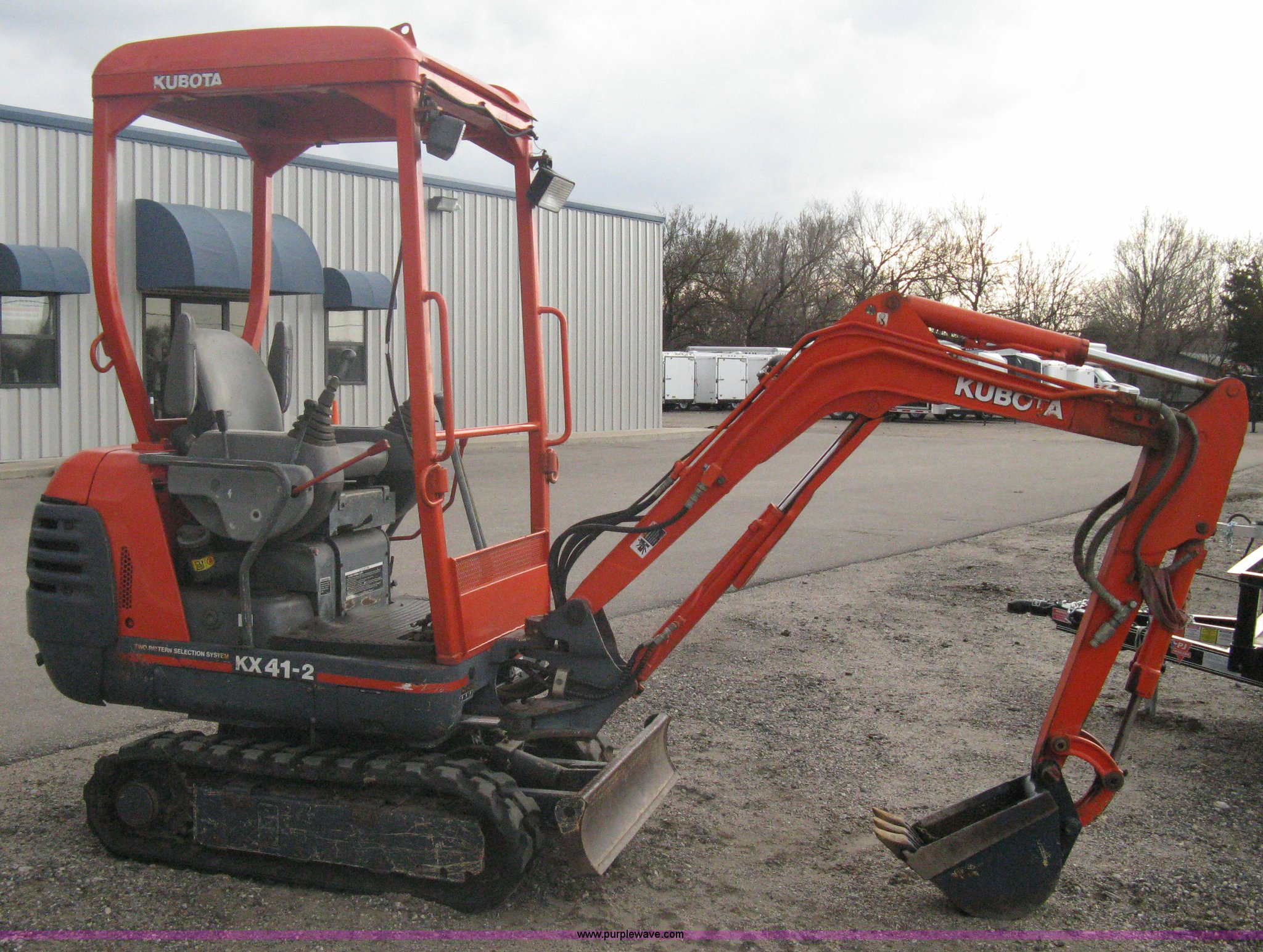 Surprising Kubota Kx41 2 Compact Excavator Item A6116 Sold March 2 Wiring 101 Breceaxxcnl