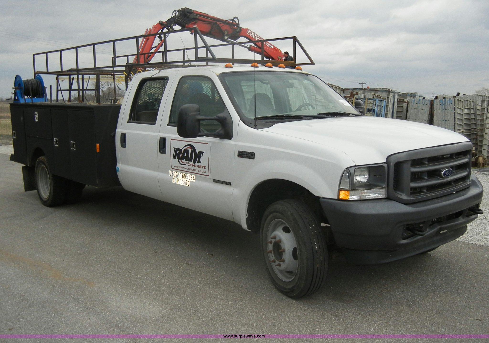 2003 Ford F550 Super Duty Wiring Diagrams Fuse Box Xl Crew Cab Pickup Truck Item C4 Rh Purplewave Com Specs Panel Diagram