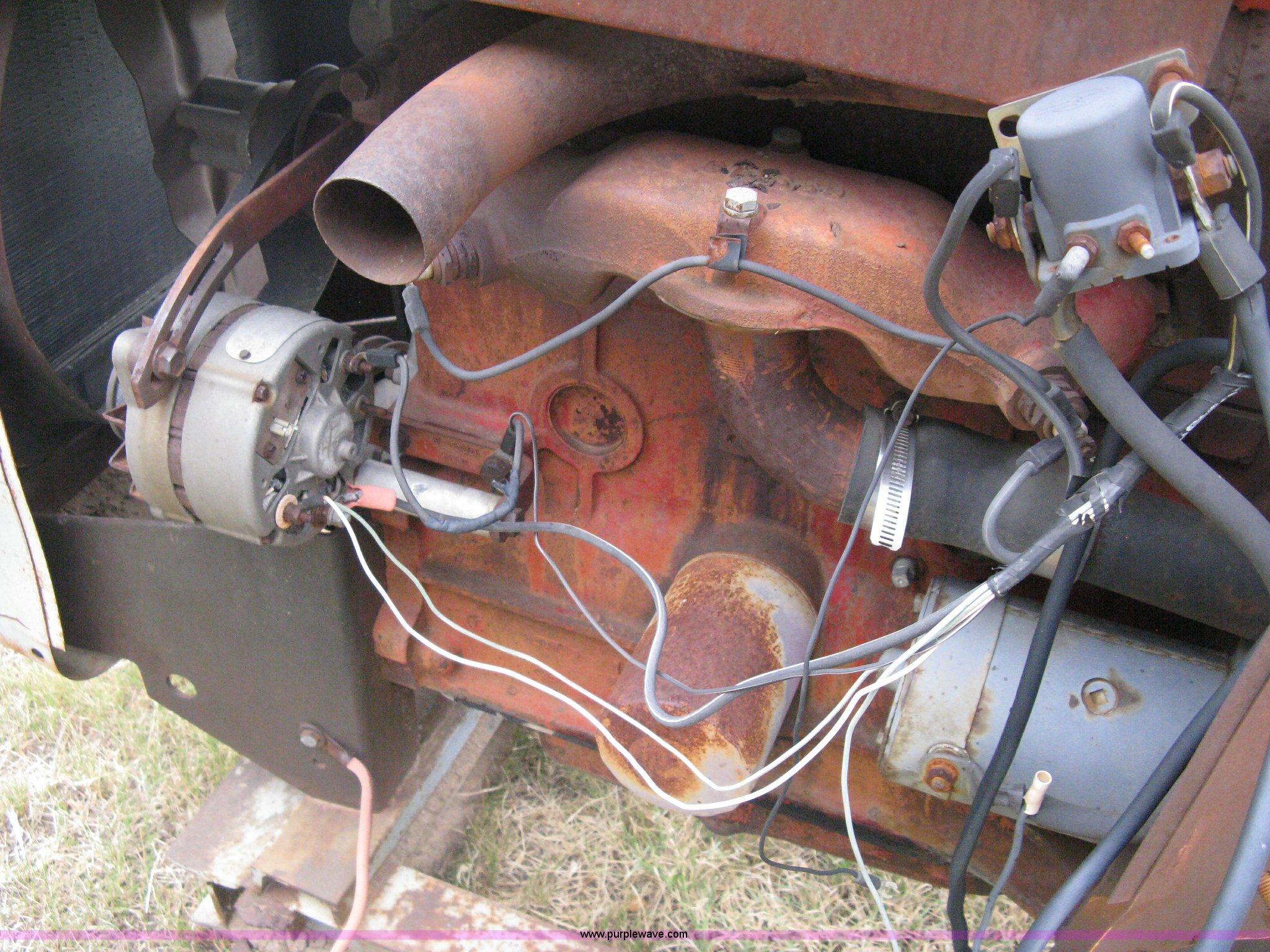 Ford four cylinder diesel irrigation engine item a6473 for Diesel irrigation motors for sale