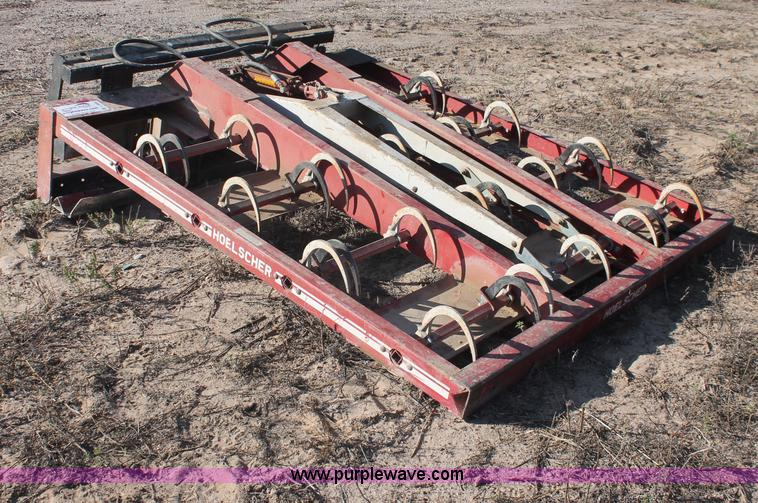 Hoelscher 100 bale grapple   no-reserve auction on ...
