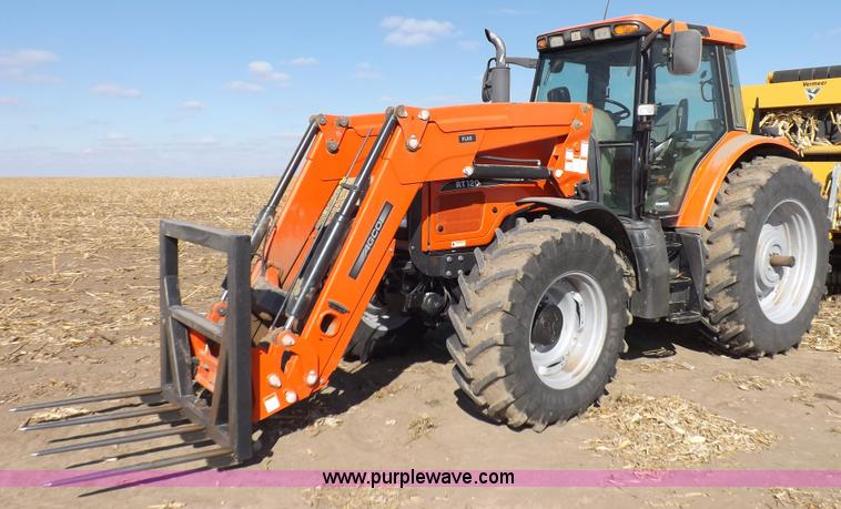 F6241.JPG - 2004 AGCO RT120A MFWD tractor , 3,706 hours on meter , Hours may vary , Susu 66 six cylinder diesel ...