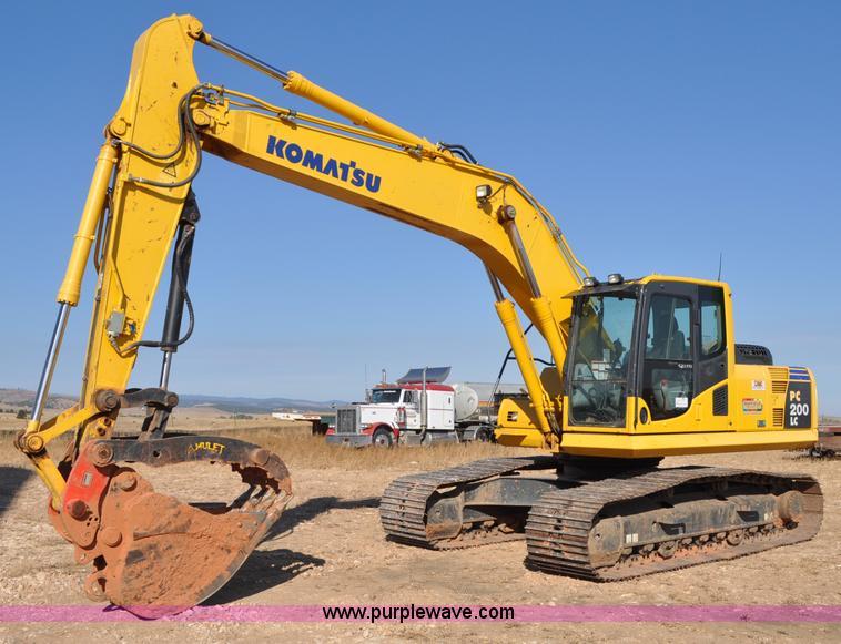 C3051.JPG - 2008 Komatsu PC200LC 8 excavator , 1,904 hours on meter , Komatsu 6 7L six cylinder turbo diesel eng...