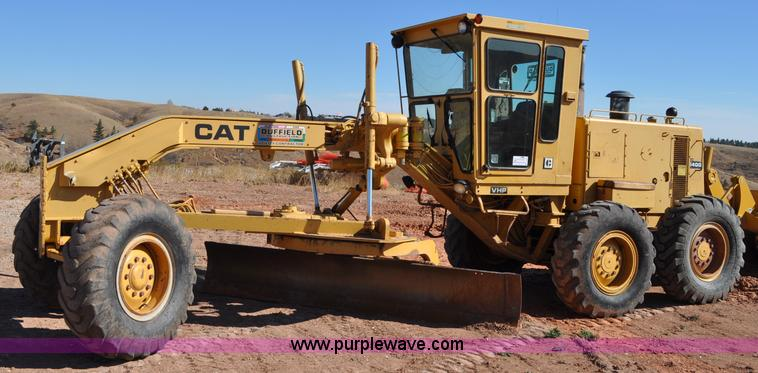 C3054.JPG - 1987 Caterpillar 140G motor grader , 9,373 hours on meter , Caterpillar 3306DI six cylinder diesel e...