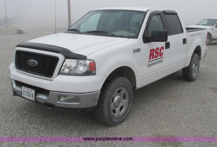 F4052.JPG - 2004 Ford F150 XLT Super Crew pickup truck , 189,781 miles on odometer , Triton 5 4L V8 EFI gas engi...