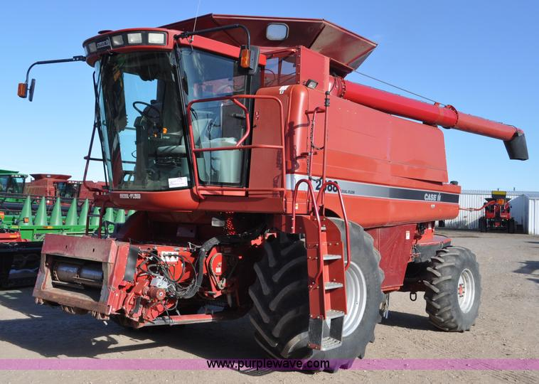 C3229.JPG - 2006 Case IH 2388 RWA combine , 2,449 engine hours on meter , 3,971 separator hours on meter , Case ...