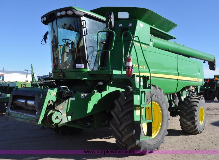 C3230.JPG - 2008 John Deere 9770 STS RWA combine , 3,611 engine hours on meter , 2,351 separator hours on meter ...
