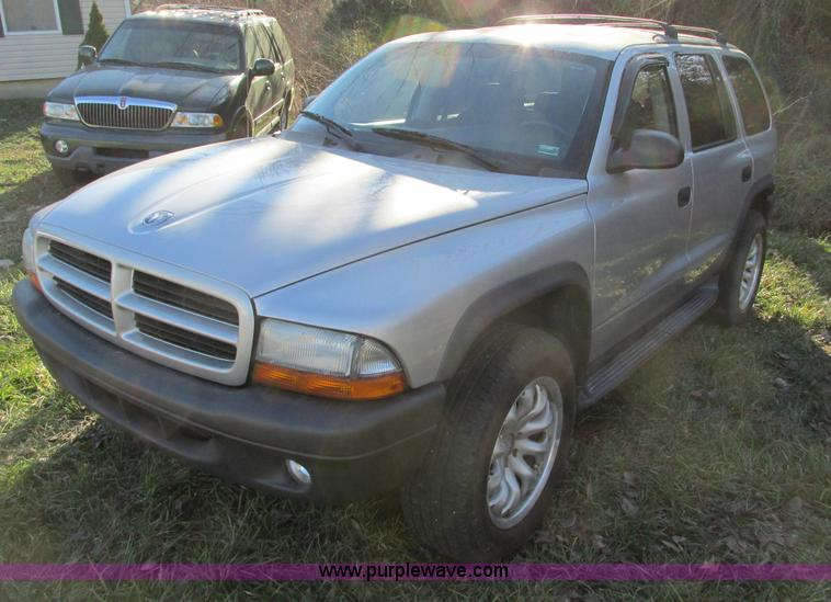 F4125.JPG - 2003 Dodge Durango SUV , 155,428 miles on odometer , 4 7L V8 SOHC 16V gas engine , Automatic transmi...