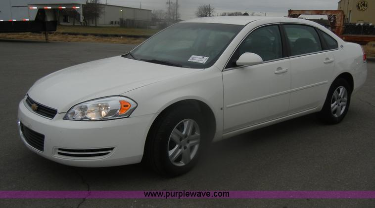 D4546.JPG - 2008 Chevrolet Impala LS , 134,549 miles on odometer , 3 5L V6 SFI flex fuel gas engine , E85 ethano...