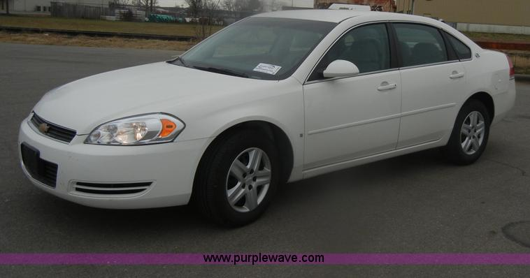 D4549.JPG - 2008 Chevrolet Impala LS , 118,455 miles on odometer , 3 5L V6 OHV 16V flex fuel gas engine , E85 et...