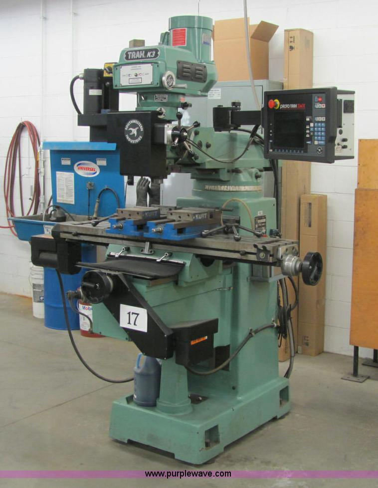E2769.JPG - Southwestern Industries Trak K3sx CNC knee mill , Proto Trak SMX CNC , Two axis CNC , Three axis DRO...