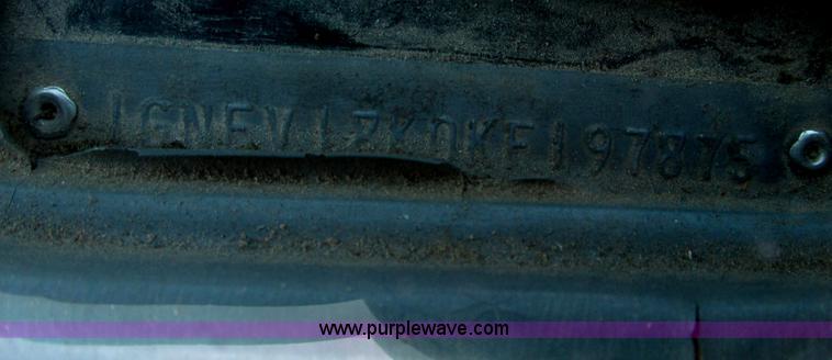 F4124ZZA.JPG - 1989 Chevrolet K5 Blazer SUV , 39,813 miles on odometer , 5 7L V8 OHV 16V gas engine , Automatic tra...