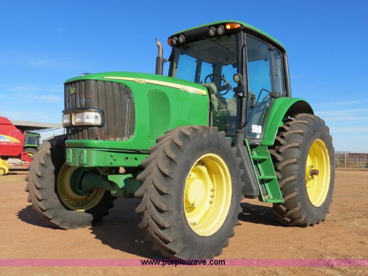 B4548.JPG - 2004 John Deere 7420 MFWD tractor , 7,326 hours on meter , John Deere 6 8L six cylinder turbo diesel...