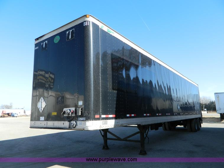 G7649.JPG - 2000 Great Dane 48 dry van trailer , 102 quot W , Maxon 5,000 lb lift , 295/75R22 5 tires , GVWR 68,...