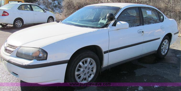 E3627.JPG - 2004 Chevrolet Impala , 156,758 miles on odometer , 3 8L V6 OHV 12V gas engine , Automatic transmiss...