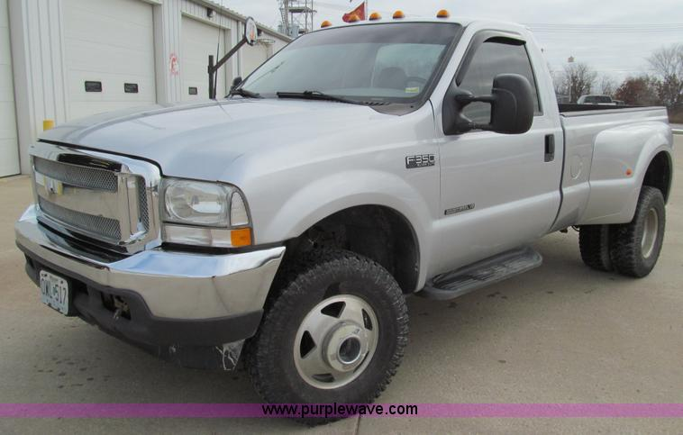 E3636.JPG - 2003 Ford F350 XLT Super Duty pickup truck , 167,630 miles on odometer , 7 3L V8 OHV 16V turbo diese...