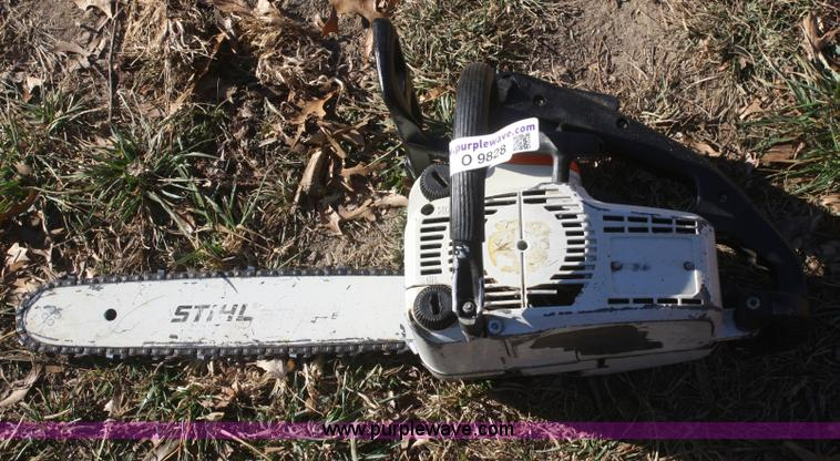 Stihl 019 Chainsaw No Reserve Auction On Wednesday