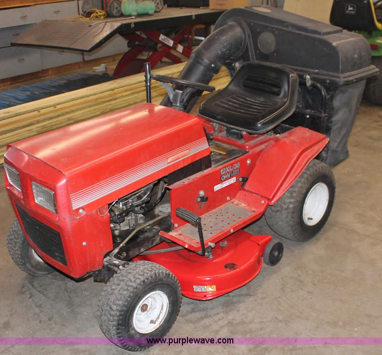 Montgomery Ward Lawn Tractor No Reserve Auction On