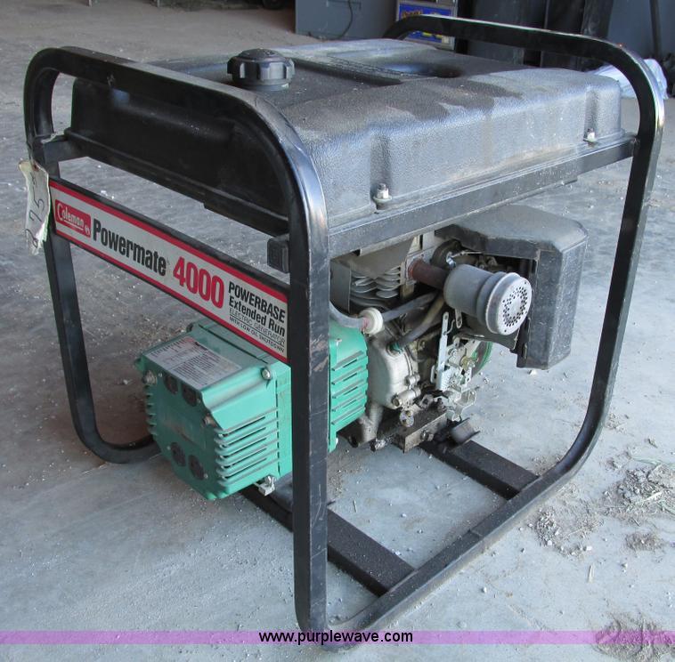 coleman powermate 4000 generator