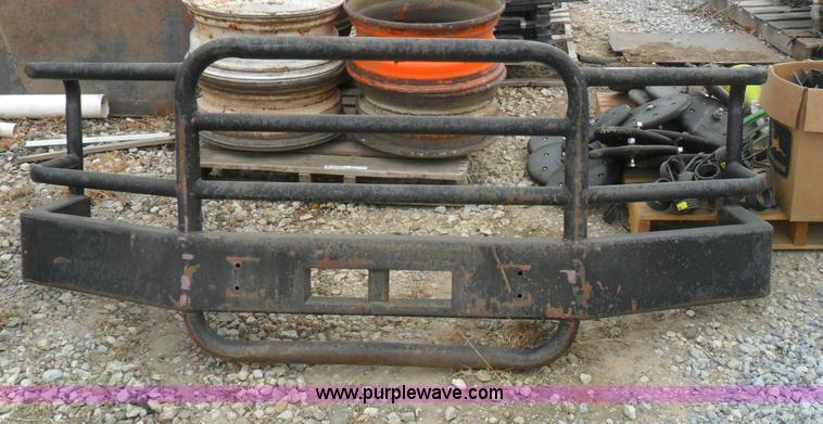 Ford Tractor Grill Guard : Front grill guard bumper no reserve auction on wednesday