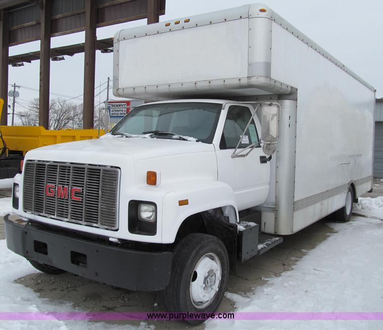 Gmc Topkick For Sale 4x4: 1993 GMC TopKick SLE Box Truck
