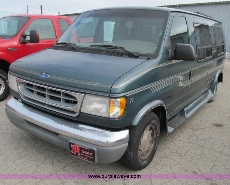 1997 ford econoline e150 van no reserve auction on. Black Bedroom Furniture Sets. Home Design Ideas