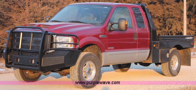 E2532.JPG - 2003 Ford F250 Super Duty SuperCab pickup truck , 151,034 actual miles , 6 0L V8 OHV 32V turbo diese...
