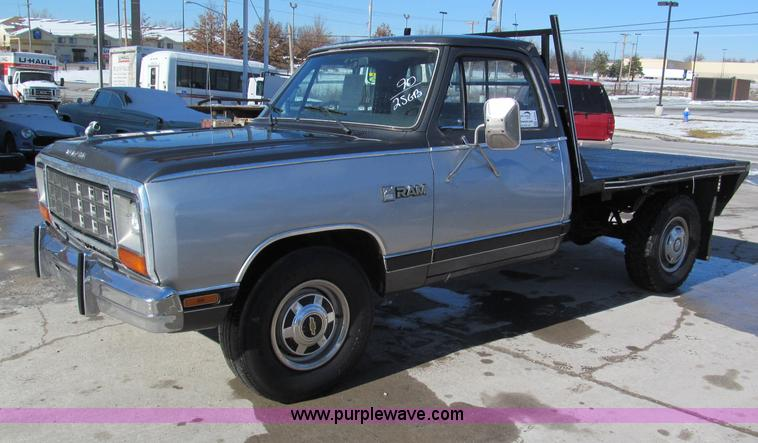E5869.JPG - 1990 Dodge Ram D250 pickup truck , 138,436 miles on odometer , Cummins 5 9L L6 turbo diesel engine ,...