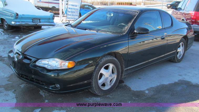 E5874.JPG - 2002 Chevrolet Monte Carlo SS , 140,489 miles on odometer , 3 8L V6 OHV 12V gas engine , Automatic t...