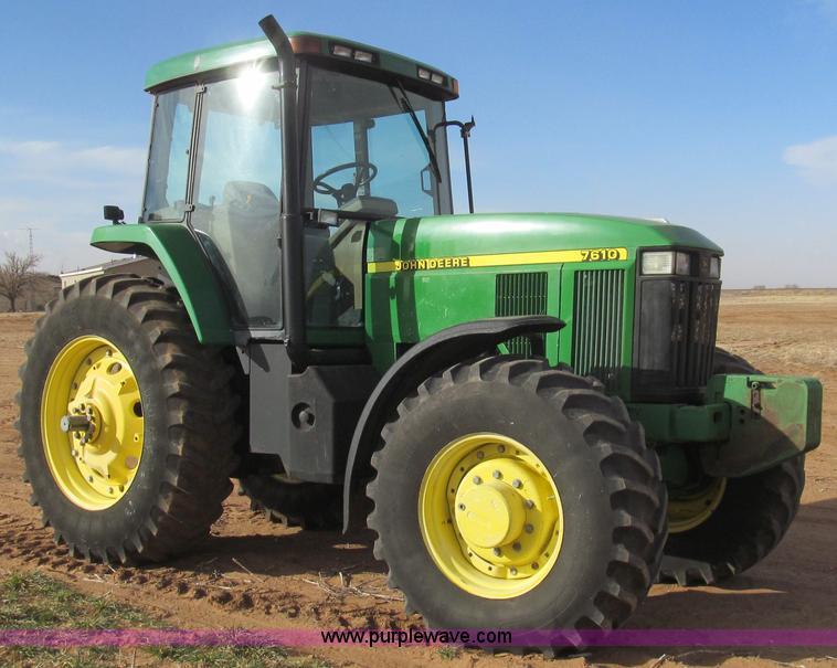 G5628.JPG - 2002 John Deere 7610 MFWD tractor , 7,867 hours on meter , John Deere 6 8L six cylinder diesel engin...