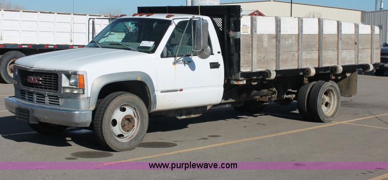 1998 Gmc Sierra 3500 Hd Dump Truck No Reserve Auction On
