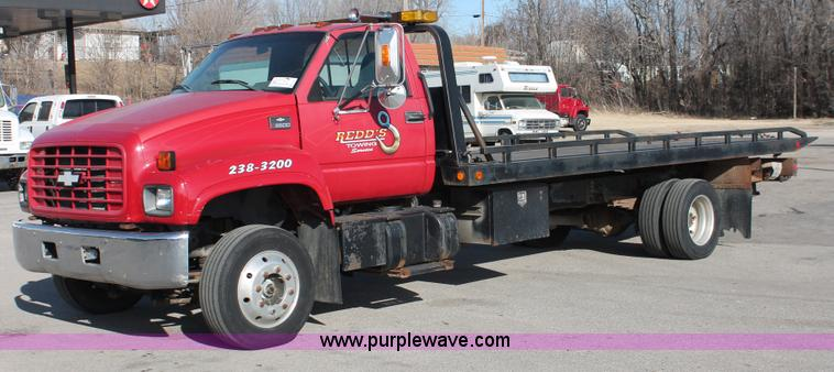 E2547.JPG - 2001 Chevrolet C6500 rollback truck , 187,185 actual miles , Caterpillar 7 2L six cylinder turbo die...