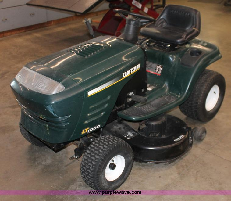 Craftsman Lt1000 Mower Manual : Craftsman lt lawn tractor parts manual cowgget