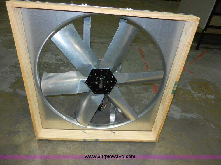 30 Whole House Fan With Shutter No Reserve Auction On