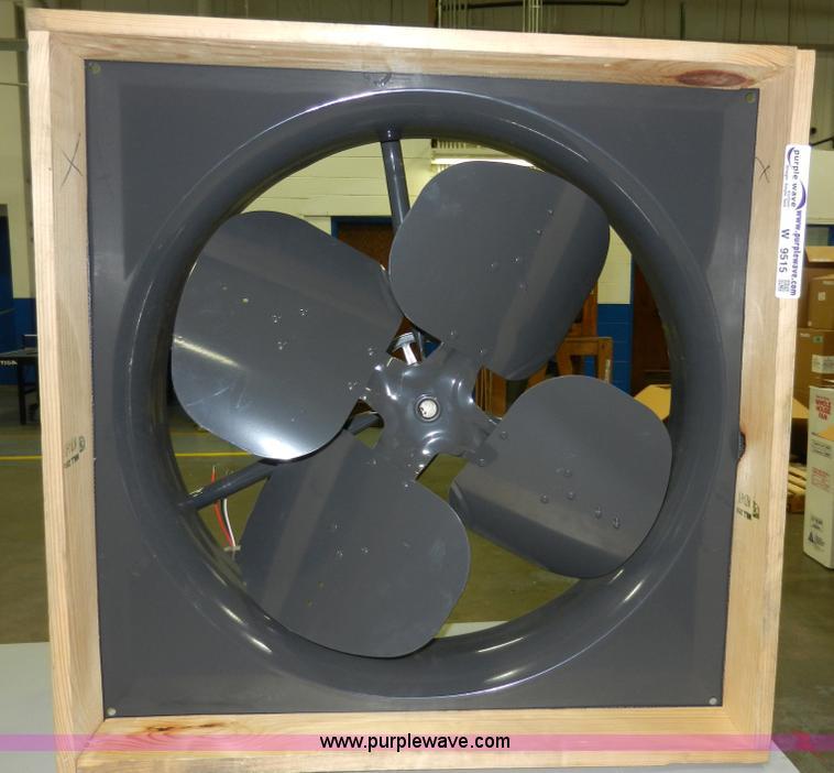 Dayton 24 Whole House Fan No Reserve Auction On