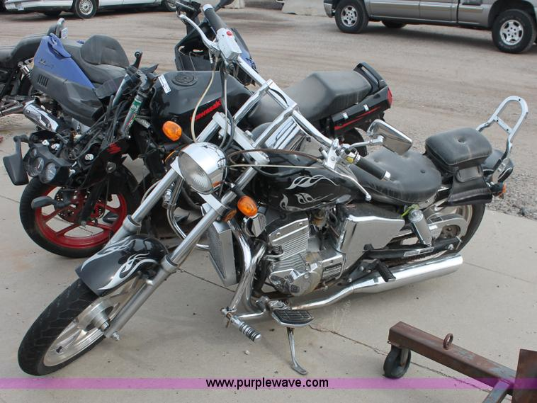 V9235.JPG - 2008 Roketa Tonga 250 motorcycle , 7,866 miles on odometer , Manual transmission , Twin pipe exhaust...