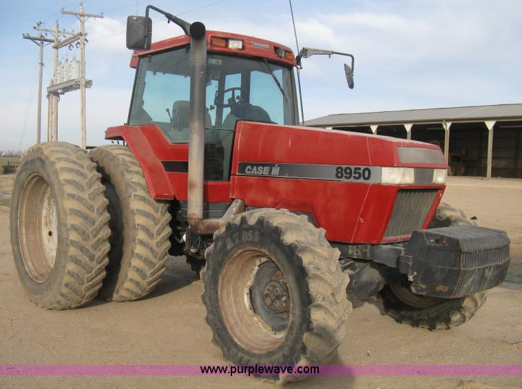 B8417.JPG - 1998 Case IH Magnum 8950 MFWD tractor , 6,826 hours on meter , Six cylinder diesel engine , Powershi...