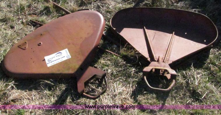 F3101.JPG - International clam shell fenders , Removed from a Farmall 706 ...