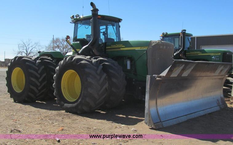 G5635.JPG - 2007 John Deere 9620 tractor , 5,378 hours on meter , John Deere 12 5L six cylinder diesel engine , ...