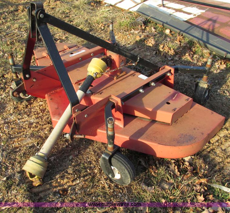 F4219B.JPG - Bush Hog FTH 720 72 quot finish mower , Pneumatic tires , Serial 12 04455 ...