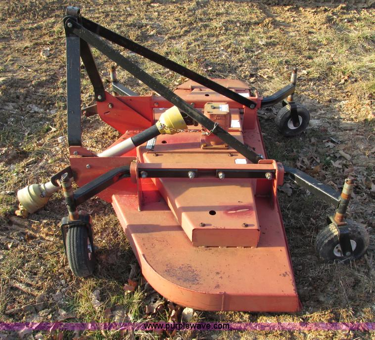 F4219C.JPG - Bush Hog FTH 720 72 quot finish mower , Pneumatic tires , Serial 12 04455 ...