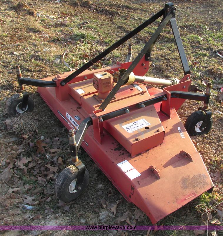 F4219F.JPG - Bush Hog FTH 720 72 quot finish mower , Pneumatic tires , Serial 12 04455 ...
