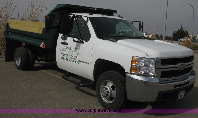 E3079.JPG - 2007 Chevrolet Silverado 3500 HD dump body truck , 16,057 miles on odometer , Miles may vary , 6 0L ...