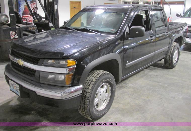 F4188.JPG - 2006 Chevrolet Colorado Crew Cab pickup truck , 89,718 miles on odometer , 3 5L L5 DOHC 20V gas engi...
