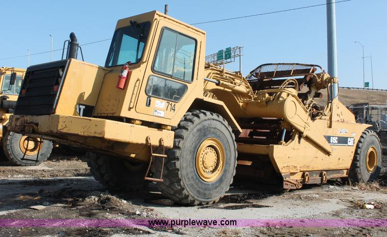 E2813.JPG - 2000 Caterpillar 615C paddle scraper , 1,954 hours on meter , Caterpillar 3306 six cylinder diesel e...