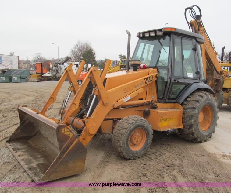 Case 580l Backhoe Seat : Case l series ii extendahoe backhoe no reserve