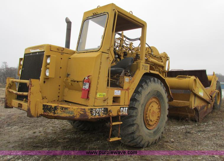 F4305.JPG - 1988 Caterpillar 621E wheel scraper , 1,211 hours on meter , Actual hours unknown , Caterpillar 3406...