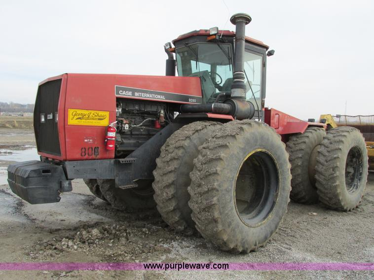 F4307.JPG - 1992 Case International 9280 articulating tractor , 8,969 hours on meter , Cummins six cylinder turb...