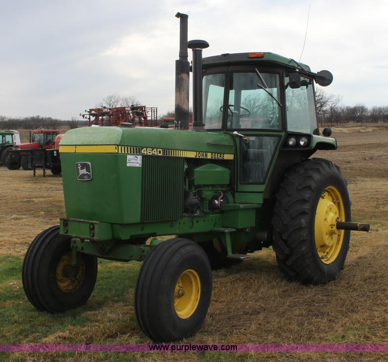 E8419.JPG - 1979 John Deere 4640 tractor , 2,217 hours on meter , Approximately 8,500 actual hours , John Deere ...