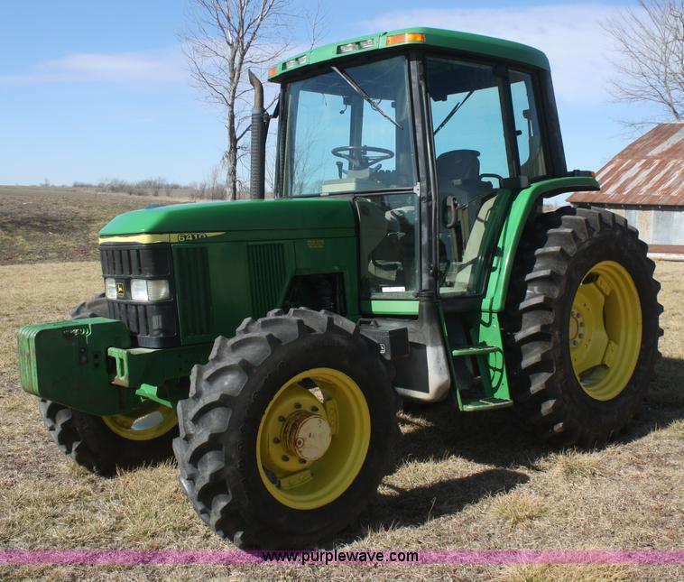 V9512.JPG - 2001 John Deere 6410 MFWD tractor , 4,011 hours on meter , John Deere 4 5L four cylinder diesel engi...
